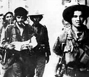 Che Guevara during the Battle of Santa Clara