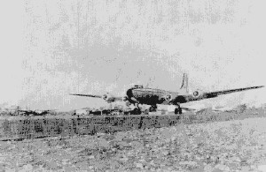 CIA�s Douglas C-54 taking off from JMMadd  (Photo taken from CIA s declassified papers)