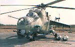 FAR attack helicopter Mil Mi-24 Hind