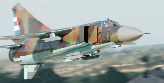 Cuban aviation site. MiG-23ML