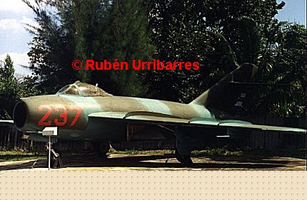 MiG-17AS in the DAAFAR Museum. Photo Ruben