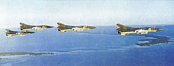 MiG-23MF with missiles R-60 and R-24 -Photo courtesy of Air & Space Power Journal