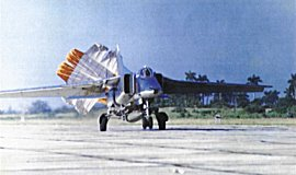 MiG-23BN landing in San Antonio -Photo courtesy of Air & Space Power Journal