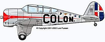 El avion CW-19R Colon