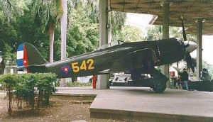Hawker Sea Fury at the Revolution Museum in Havana